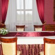 Dining table - Foto Stock