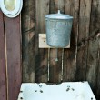 Old washstand - Foto Stock