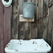 Old washstand - Stock Photo