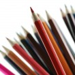 Red pencils - Stock Photo