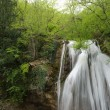 Picturesque stream of falling water — Stock Photo