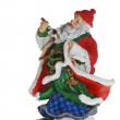Santa Claus - profile — Stock Photo