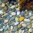 Sea color pebble - Stock Photo