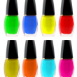 Set nail polish - Stock Photo