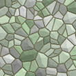 Stone texture green — Stock Photo