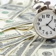 Time - money. Business concept. — Stock Photo