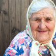 The old woman age 84 years - Stock Photo