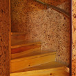 Wooden spiral staircase — Stock Photo #6199802