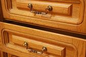 Boxes of a locker — Stock Photo