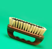 Brush for cleaning — Stock Photo