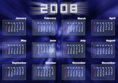 Calendar in fantastic style - 2008 — Stock Photo