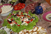 Celebratory lunch — Stock Photo