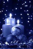 圣诞寒冷的晚上 — 图库照片