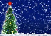 Christmas fir tree — Foto de Stock