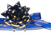 Dekorativ prydnad bakgrund - mörk blå — Stockfoto