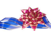 Decorative ornament background - red, blue — Stock Photo