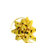 Decorative ornament background - yellow — Stock Photo