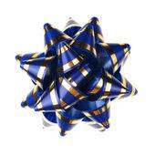 Decoratieve sieraad van tapes - blauw — Stockfoto