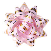 Decorative ornament from tapes - pink — Foto de Stock