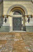 Door in church — Stock Photo