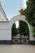 Gateway in church — Stock Photo