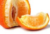 Mandarijn - een oranje — Stockfoto