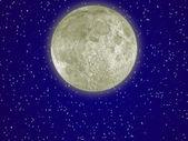 аура луны — Стоковое фото
