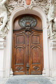 Old-time door — Stock Photo
