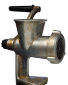 Old manual meat grinder — Stock Photo