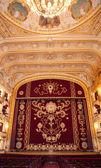 Auditorio y cortina — Foto de Stock