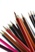 Red pencils — Stock Photo