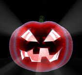 Pumpkin - a symbol of a holiday - halloween — Stock Photo