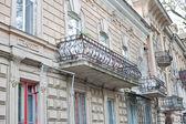 Vecchio balcone — Foto Stock