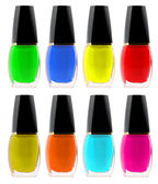 Set nail polish — Stock Photo