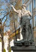 Statua neptun — Foto Stock
