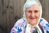 The old woman age 84 years — Stock Photo