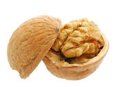 Walnut open — Stock Photo
