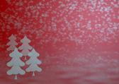 Pozadí zimní vánoční — Stock fotografie