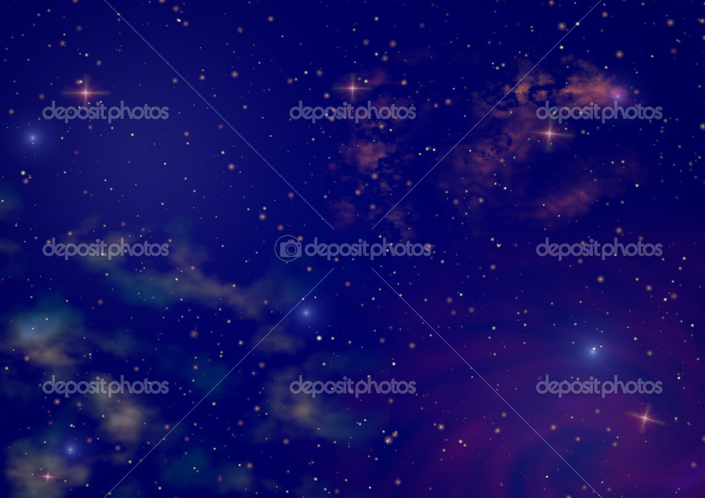 夜晚动态矢量图