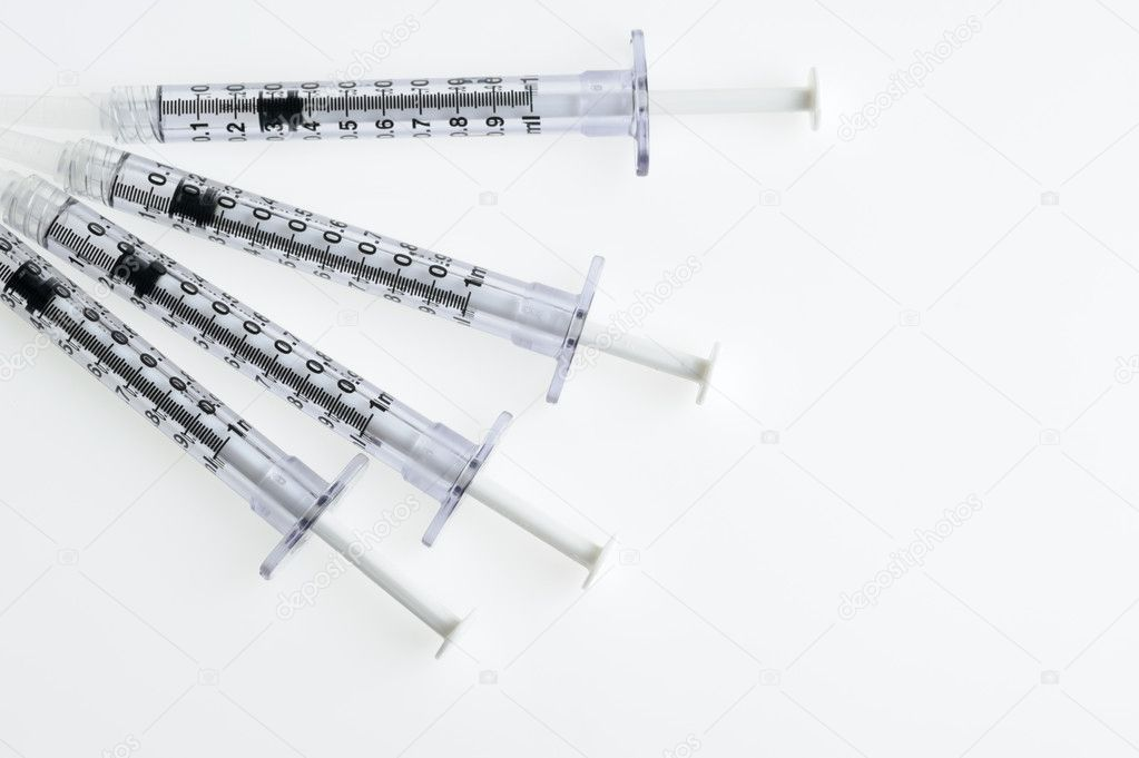Syringe. The medical tool intended for injections   Stock Photo #6197914