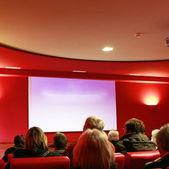 Seminario o formación con muchos participantes — Foto de Stock