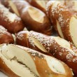 Fresh bread and rolls - Stock Photo