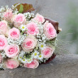 Pink Rose Bouquet — Stock Photo #6049734