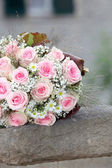 Pink Rose Bouquet — Stock Photo