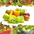 Juice fruits — Stock Photo