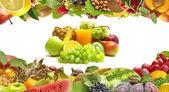 Juice fruits — Stock Photo