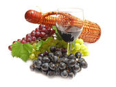 Vin insamling — Stockfoto