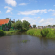 Stock Photo: Zaanse Schans - small dutch vilage.