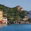 Stock Photo: View on Portofino.