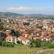 Town of Alba in Piedmont, northern Italy. — Stock Photo